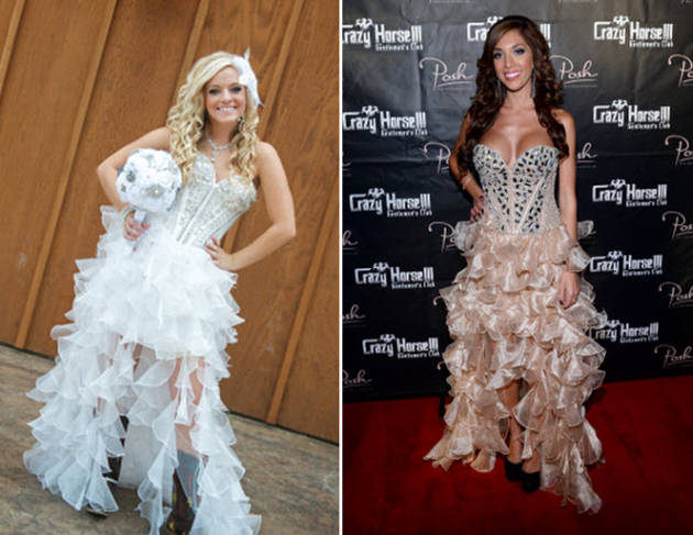 Did Farrah Abraham Copy Mackenzie Douthit's Look? (PHOTO)