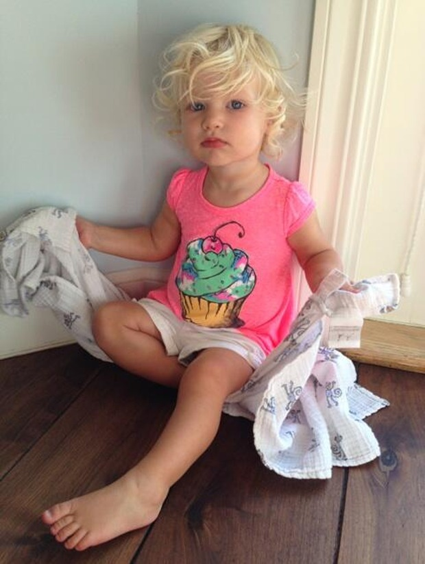 Jessica Simpson's Daughter Maxwell Simpson Is Quite Possibly the Cutest Little Girl Ever (PHOTO)
