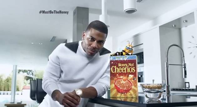 The Cheerios Bee Gets Bullied by Nelly Because Being Himself Isn't Good Enough (VIDEO)