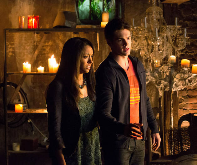 "Vampire Diaries Season 5: Kat Graham Dishes on ""Intimate"" Relationship With Jeremy"
