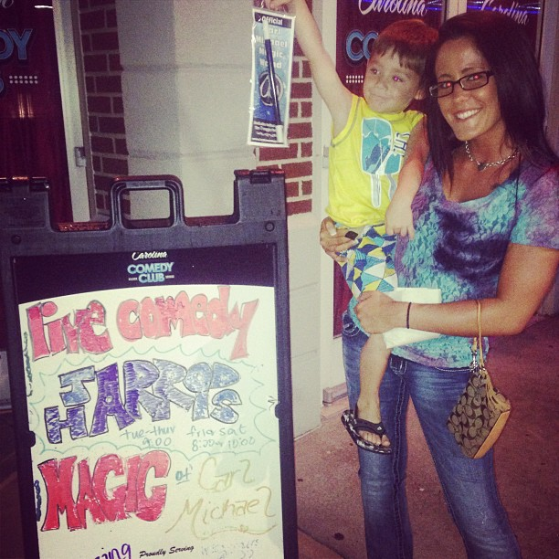 Jenelle Evans Takes Son Jace to Magic Show After His Surgery (PHOTO)
