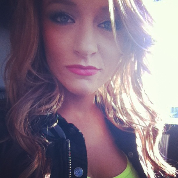 Maci Bookout Dyes Hair an Even Bolder Shade of Red — See It Here! (PHOTO)