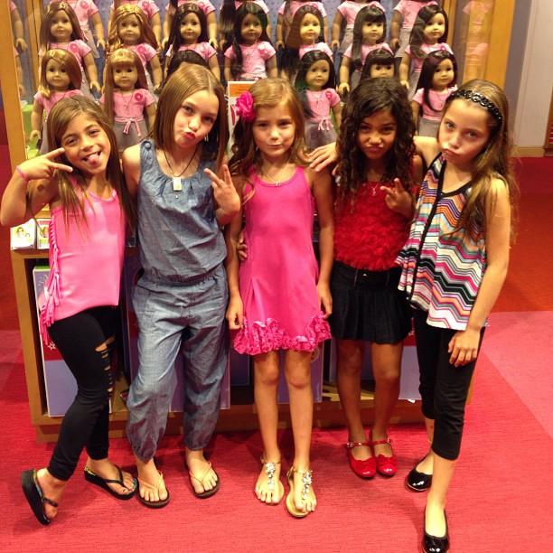 Melissa Gorga Takes the Giudice Girls Out During Teresa's Arraignment (PHOTOS)