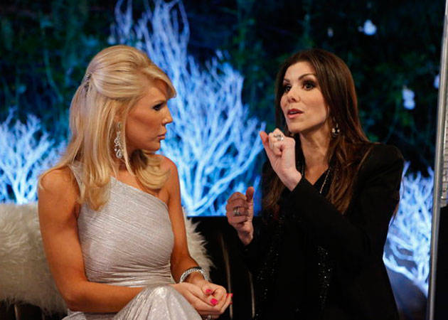 "Heather Dubrow: Gretchen Rossi and I Aren't Close — and It's ""Awkward"""