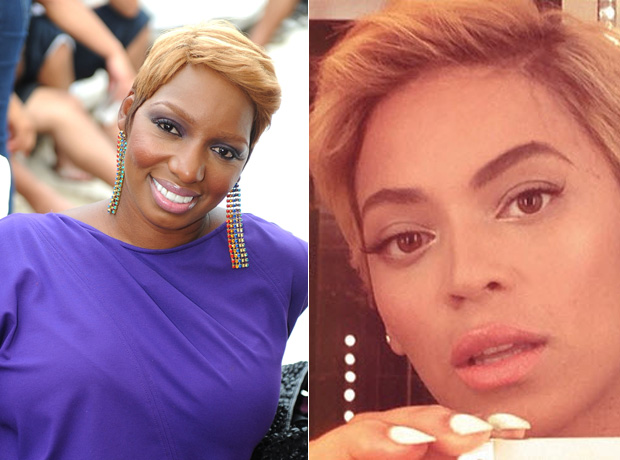 NeNe Leakes vs. Beyonce: Who Rocks the Short, Blonde Hairstyle Best? (PHOTOS)
