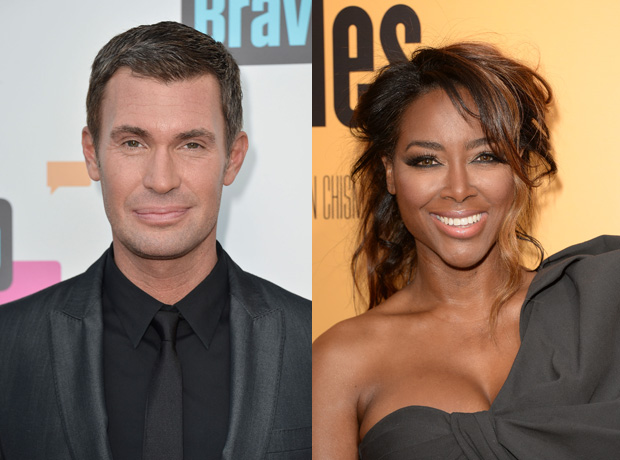 """Interior Therapy's Jeff Lewis Fears Kenya Moore, Calls Her a """"Wild Card"""""""