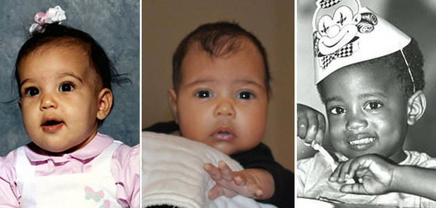 North West's First Photo Revealed: Does She Look More Like Baby Kim or Baby Kanye? (PHOTOS)