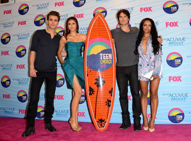 Ian Somerhalder and Nina Dobrev to Attend Teen Choice Awards