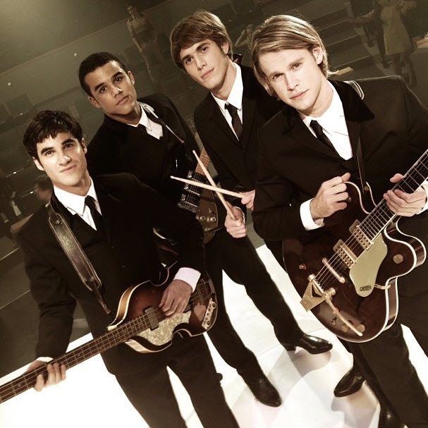 Glee Season 5 Spoiler: Which Beatles Members Do Blaine and Sam Play?