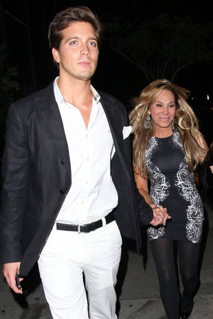 Adrienne Maloof Spotted with Sexy 24-Year-Old Anheuser-Busch Heir