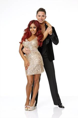Dancing With the Stars 2013: Snooki Already Bonding With Pro Partner Sasha Farber (PHOTO)
