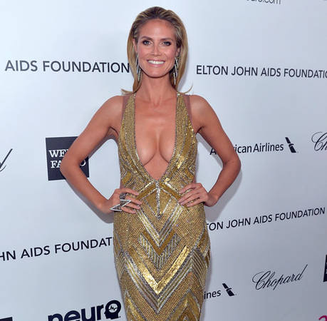 "Heidi Klum Admits She Was ""Terrified"" For Parks and Rec Guest Spot"