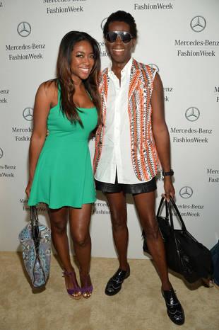 Kenya Moore Hangs With Marlo Hampton at New York Fashion Week (PHOTOS)