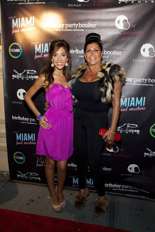 Farrah Abraham Chills With Big Ang at Miami Monkey Party in New York City (PHOTO)