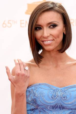 Giuliana Rancic Wears $1 Million Diamond Ring at 2013 Emmys — See It Close Up! (PHOTO)