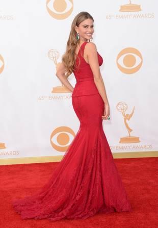 Emmys 2013: Sofia Vergara Wears K-Mart Panties on The Red Carpet