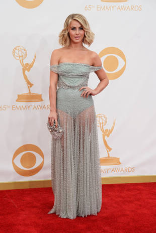 Emmys 2013: Julianne Hough Wears See-Through Leotard Gown — Hot or Not? (PHOTO)