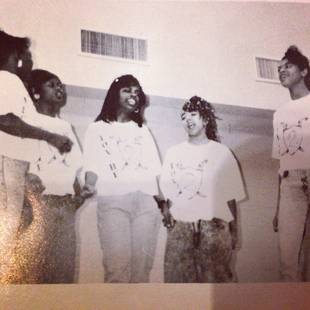 Kandi Burruss's Group Xscape Before They Were Famous — See the Old School Pic! (PHOTO)