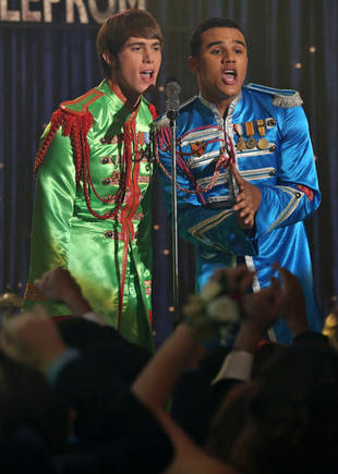 """First Listen: Glee Season 5, Episode 2's Beatles' """"Sgt. Pepper's Lonely Hearts Club Band"""""""