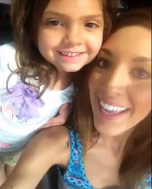 Farrah Abraham Reunites With Sophia in Austin — Where She's Building a House! (VIDEO)