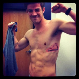 Glee's Grant Gustin on Becoming CW's The Flash — In Tight Spandex!