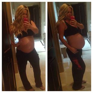 Pregnant Kim Zolciak Shows Off Baby Bump on Her Way to Walmart (PHOTOS)