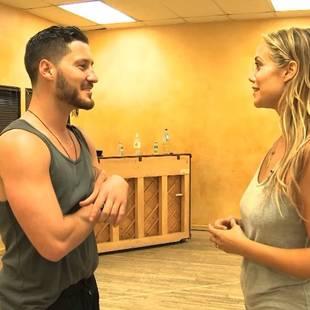 Dancing With the Stars 2013: Val Chmerkovskiy's Shocking Confession to Elizabeth Berkley! (VIDEO)