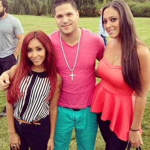 Snooki, Sammi Sweetheart, and Ronnie Hang Out — Who Had a Wardrobe Malfunction? (PHOTO)