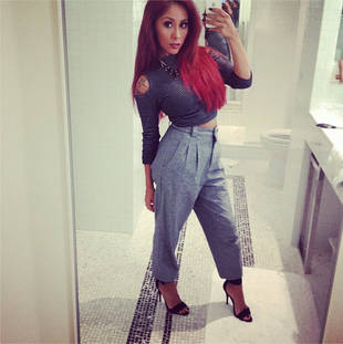 Snooki Dazzles in Super Fierce, Glamorous Bathroom Selfie (PHOTO)