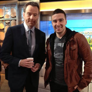 Vinny Guadagnino Chills With Breaking Bad Star Bryan Cranston (PHOTO)
