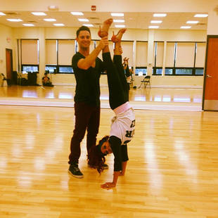 Dancing With the Stars 2013 Contestant Snooki at Rehearsals: Inside the Studio! (PHOTO)