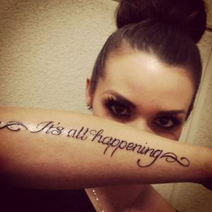 Vanderpump Rules Star Scheana Marie Gets Inspiration Tattoo (PHOTOS) — Exclusive