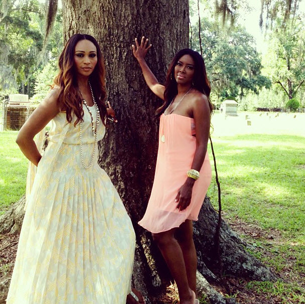 """Kenya Moore and Cynthia Bailey Are Looking For the """"Hottest Bachelors"""""""