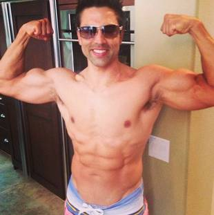 Tamra Barney's Husband Eddie Judge Poses Shirtless — See His Sexy Pic!