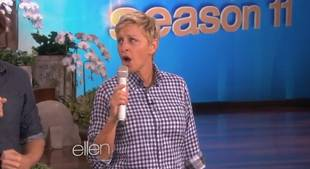 "Ellen's Rendition of Ylvis's ""The Fox"" Is Our Everything (VIDEO)"