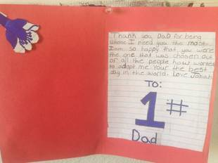 New Dad Posts Heartfelt Note From 12-Year-Old Adopted Son (PHOTO)