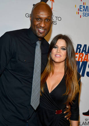 "Lamar Odom Meets With Khloe Kardashian For a ""Short Time"" After Alleged Drug Binge — Report"
