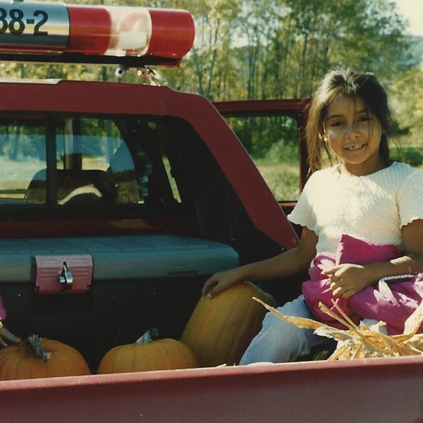 Snooki Throwback! See Her Pumpkin Picking as a Little Girl (PHOTO)