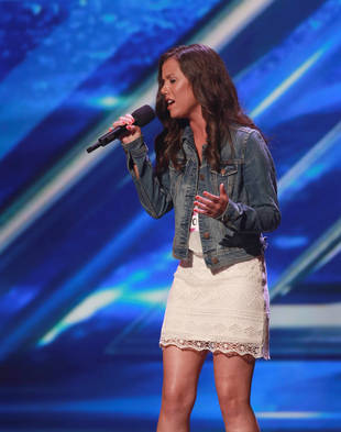 "Watch X Factor 2013 Contestant Brandie Love Sing ""Up to the Mountain"" (VIDEO)"
