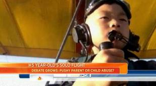 5-Year-Old Chinese Boy Becomes Youngest Solo Pilot as Father Is Called Into Question