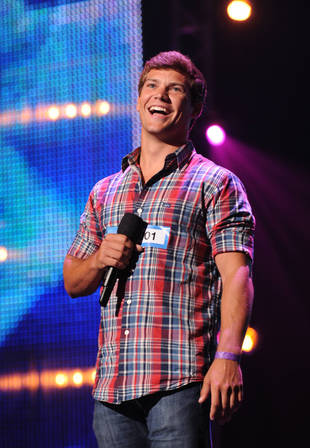 "X Factor 2013 Audition: Andrew Scholz, ""Too Close"" / ""A Little More You"""