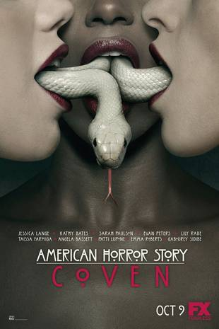 American Horror Story: Coven's Snake Poster — Nasty or Cool? (PHOTO)