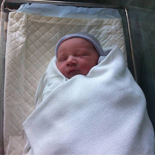 Glee Star Heather Morris's Baby Son, Elijah — First Photo!