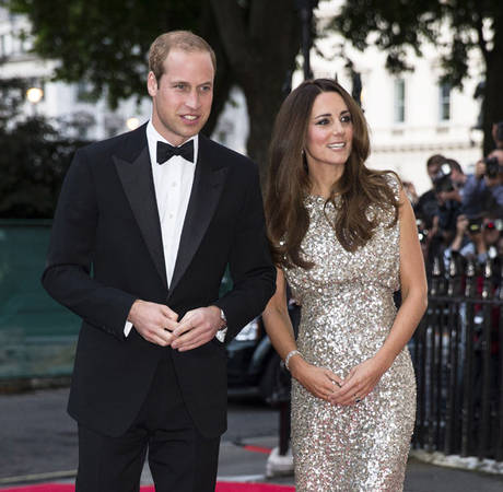 Kate Middleton Says Prince George is 'a Mix of Both of Us' at Couple's First Post-Baby Event