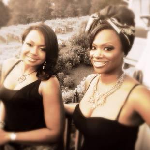 Kandi Burruss and Phaedra Parks Rock Matching Little Black Dresses! (PHOTO)