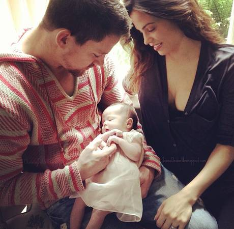 "New Dad Channing Tatum Is the Perfect ""Set Husband"" For Wife Jenna"