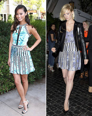 Jamie Chung vs. January Jones in Parker — Who Wore It Best?