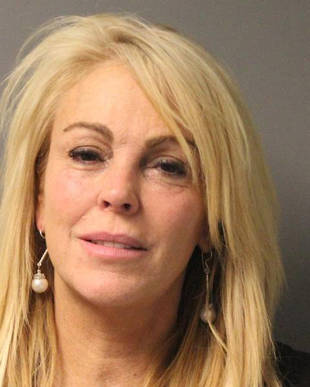 Dina Lohan Arrested For DWI — Then Skipped Booze at Birthday Party (UPDATE)