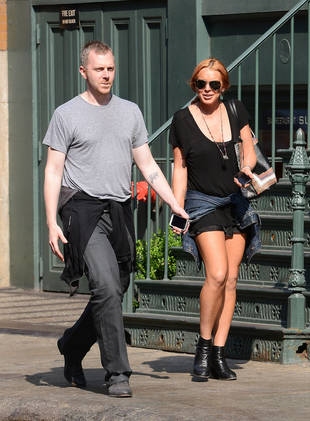 Lindsay Lohan's Mystery Man in NYC Identified! (PHOTO)