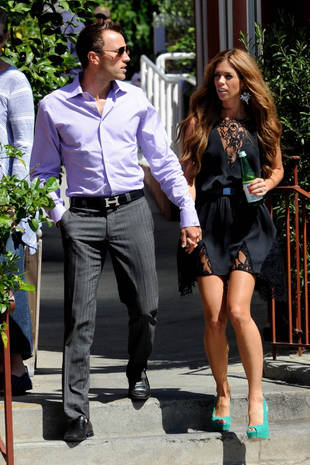 Lydia McLaughlin, Husband Doug Hold Hands on Date — Too Cute! (PHOTO)
